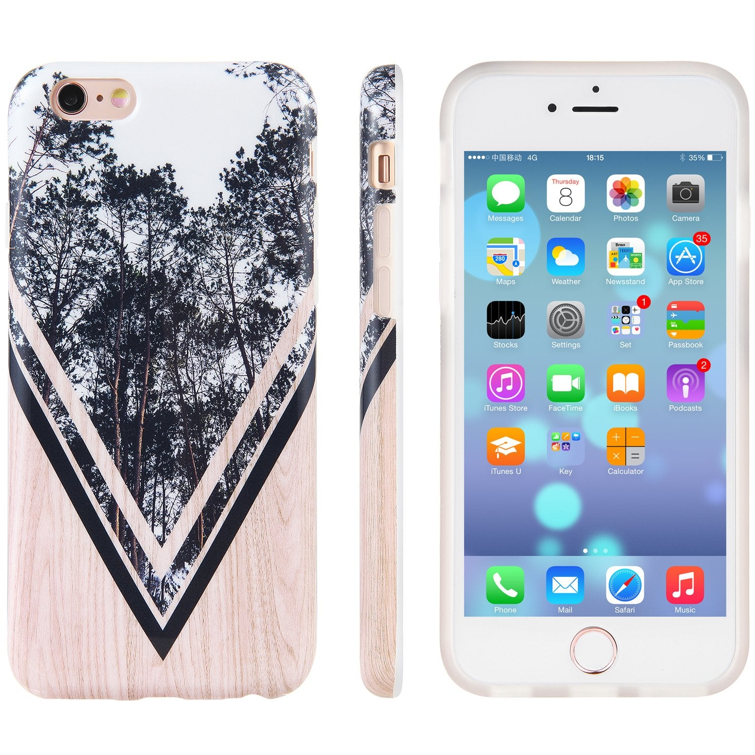 Giving Tree iPhone 6s 6 Clear Case
