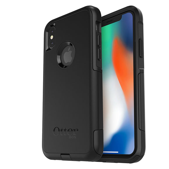 OtterBox COMMUTER SERIES Case for iPhone X (ONLY) - Frustration Free Packaging - BLACK