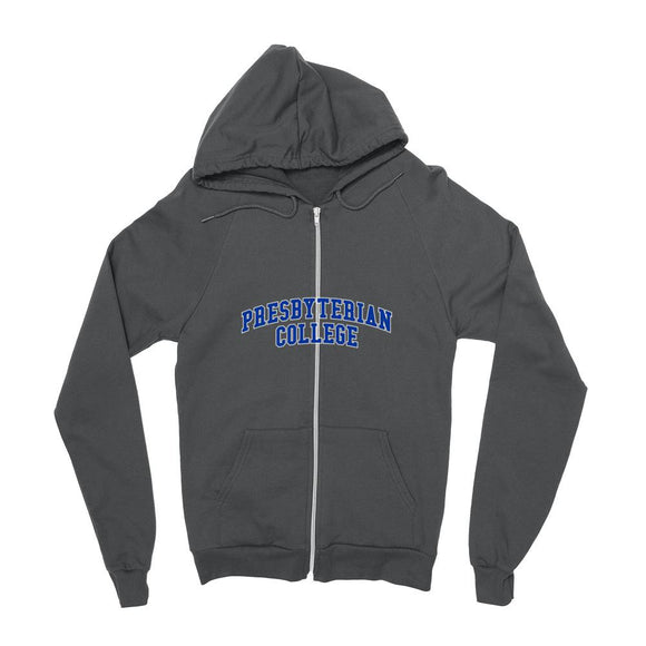 Official NCAA Presbyterian College - PC1007 Mens / womens Boyfriend Zip Hoodie