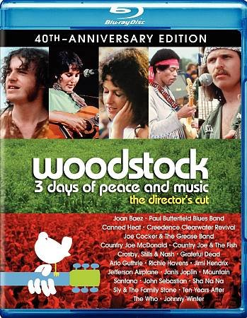 WOODSTOCK 3 DAYS DC 40TH ANN UCE