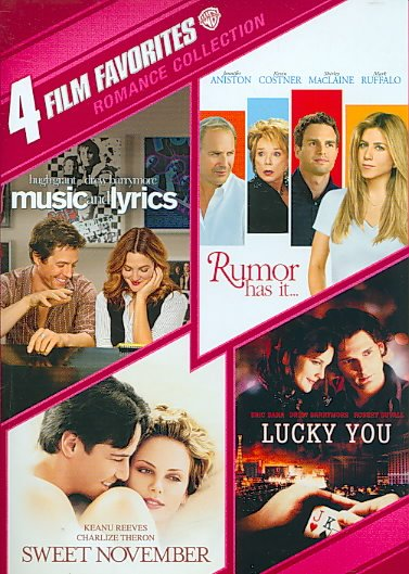 4 FILM FAVORITES:ROMANCE COLLECTION