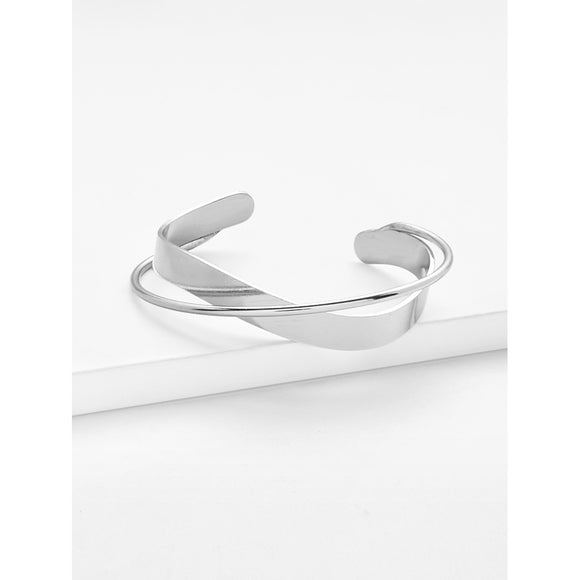 Double Layered Cuff Bracelet