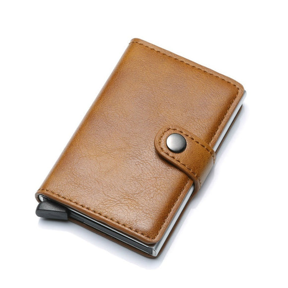 Rfid Card Holder for Men Wallets Money Bag Male VintageShort Wallet 2018 Small Leather Smart Wallets Mini Purses