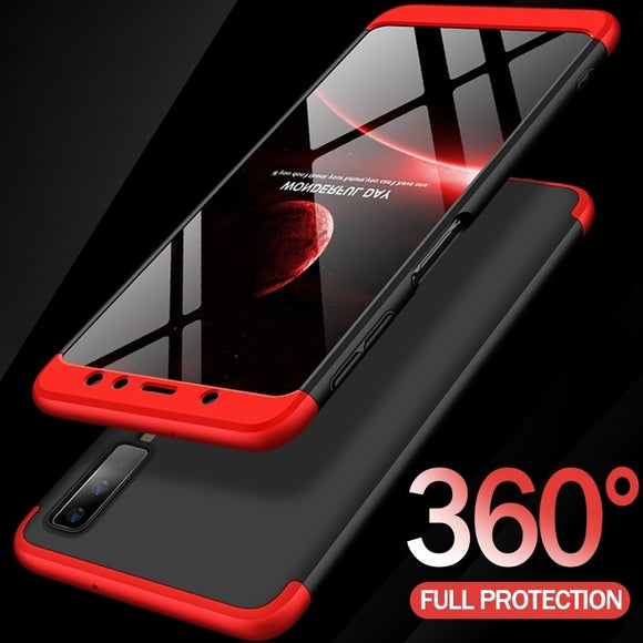 JUPOW For Samsung Galaxy A7 2018 Case 360 Full Protection Shockproof Phone Case For Samsung Galaxy A7 A6 A8 J4 J6 J8 Plus 2018 C