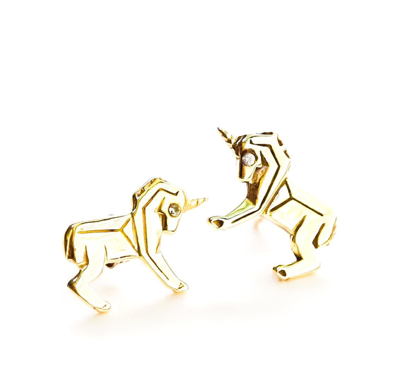 Mini Unicorn earrings
