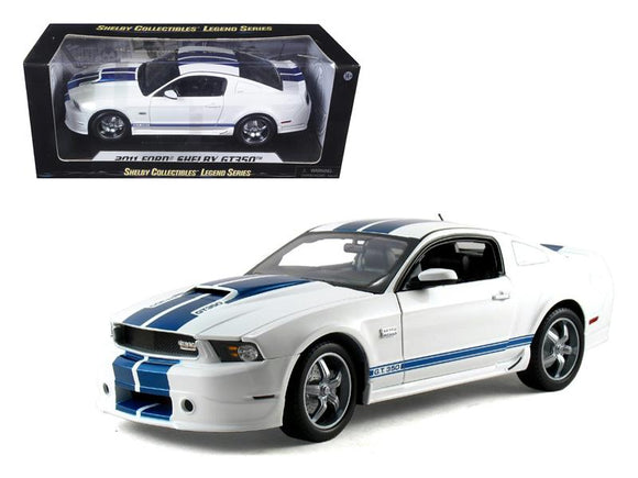 2011 Ford Shelby Mustang GT350 White 1-18 Diecast Model Car by Shelby Collectibles