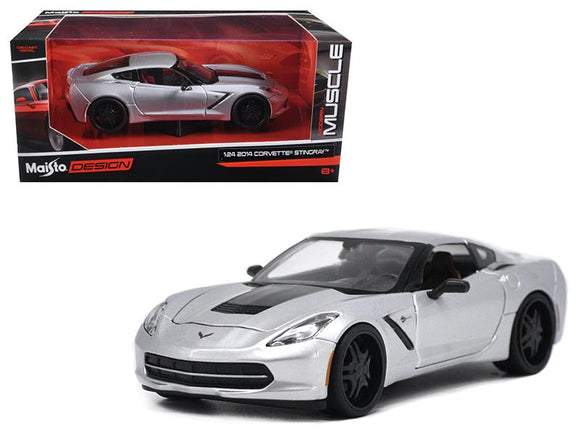 2014 Chevrolet Corvette C7 Stingray Silver
