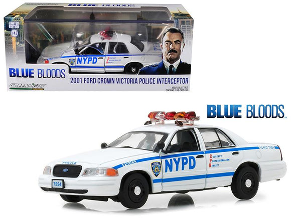 2001 Ford Crown Victoria Police Interceptor NYPD from