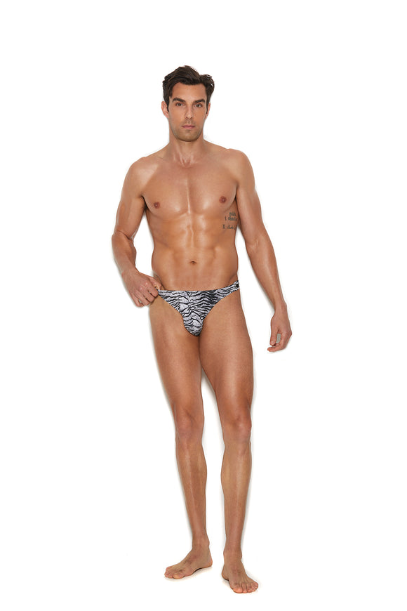 Men's Snap Closure Thong