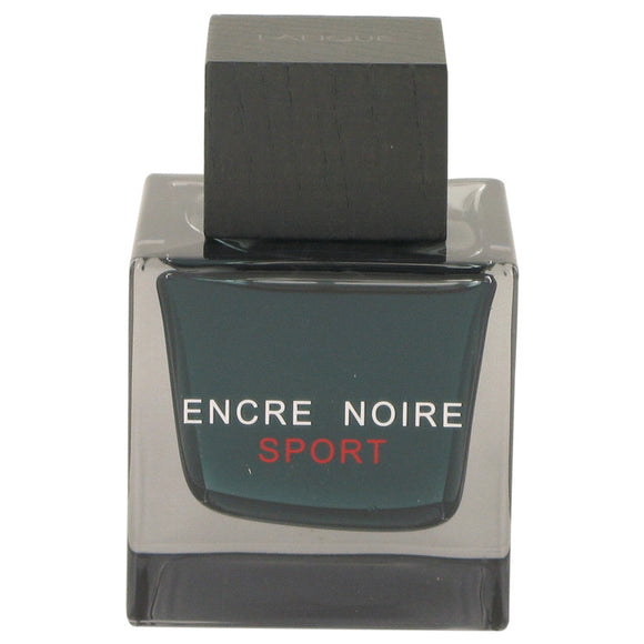 Encre Noire Sport by Lalique Eau De Toilette Spray (Tester) 3.3 oz for Men