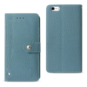 Virtual Reality Reiko Iphone 8 Plus/ 7 Plus 3-in-1 Wallet Case In Navy Attractive Fashion Cases, Covers & Skins