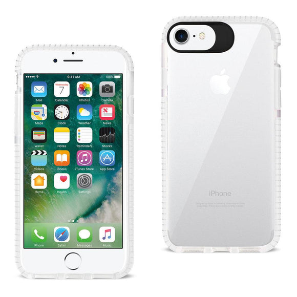 Reiko Reiko Iphone 7- 6- 6S Soft Transparent Tpu Case In Clear White