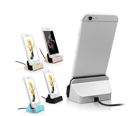 Sync and Charging Dock Station Desktop Charger / Stand For IPhone and Android
