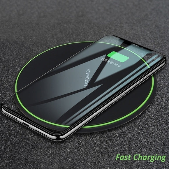 Qi Desktop 5w 10w Wireless Charger for IPhone, Samsung, Nokia, Sony, Etc.standard Fast Chargers