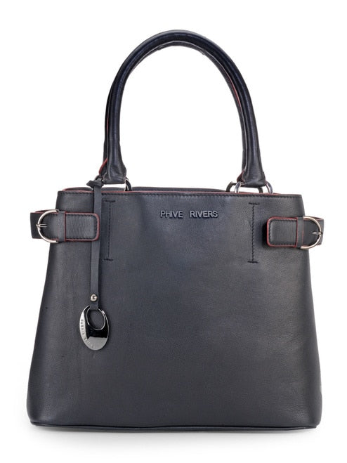 Phive Rivers Women's Black Handbag-PR1091