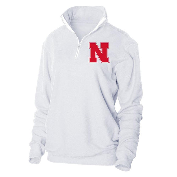 Official NCAA University of Nebraska Huskers - RYLNB06 Herrington Fleece 1/4 Zip Up Sweatshirt