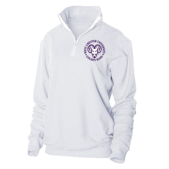 NCAA West Chester Golden Rams PPWCU05 Loop Fleece 1/4 Zip Up Sweatshirt