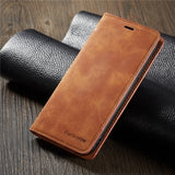Luxury High Quality Leather Flip Cover Case with Card Slots Wallet Phone Bag Case for iPhone XSMax XS XR X 8 8Plus 7 7Plus 6s 6s