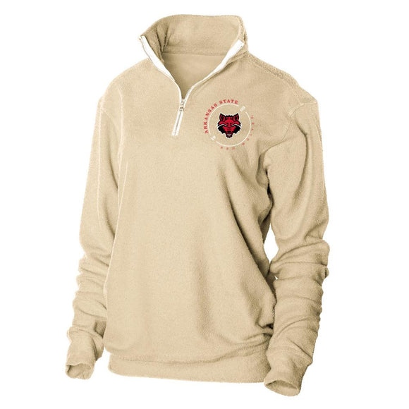 Official NCAA Arkansas State Red Wolves Herrington Fleece 1/4 Zip Up Sweatshirt