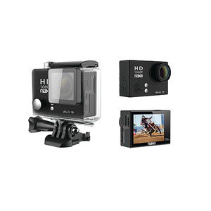 Waterproof HD 1080p Action Cam w/ Wi-Fi