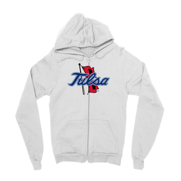 Official NCAA University of Tulsa Golden Hurricane - RYLTLS06 Mens / womens Boyfriend Zip Hoodie