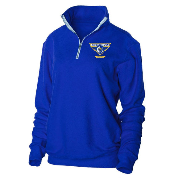 Official NCAA Embry Riddle Aeronautical University - Prescott Eagles - PPERAUP05 Herrington Fleece 1/4 Zip Up Sweatshirt