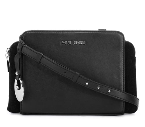 Phive Rivers Women's Black Crossbody Bag-PR1272