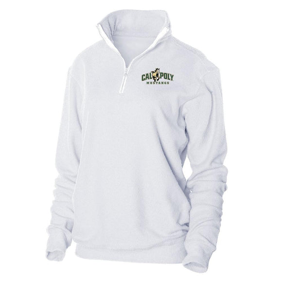 Official NCAA Cal Poly Mustangs Herrington Fleece 1/4 Zip Up Sweatshirt