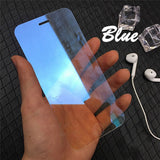 2018 Newest Mirror Screen Protector Colorful Full Cover Film 2.5D Curved 9H Protective Guard Films For Iphone X 8 7 6 6s Plus Te