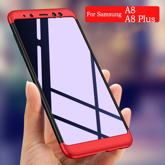 ASTUBIA Full Protector Phone Case For Samsung Galaxy A8 2018 Case Coque For Samsung A8 Plus 2018 For Galaxy A8 A 8 2018 Case