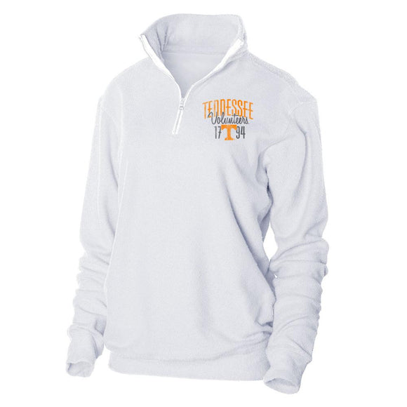 NCAA University of Tennessee Vols Herrington Fleece 1/4 Zip Up Sweatshirt
