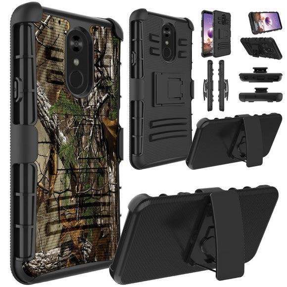 For LG Stylo 4 / Aristo 3 / V40 ThinQ / G7 ThinQ / Aristo 2 / K30 / K10 2018 Phone Case Hybrid Shockproof Rugged Armor Protectiv