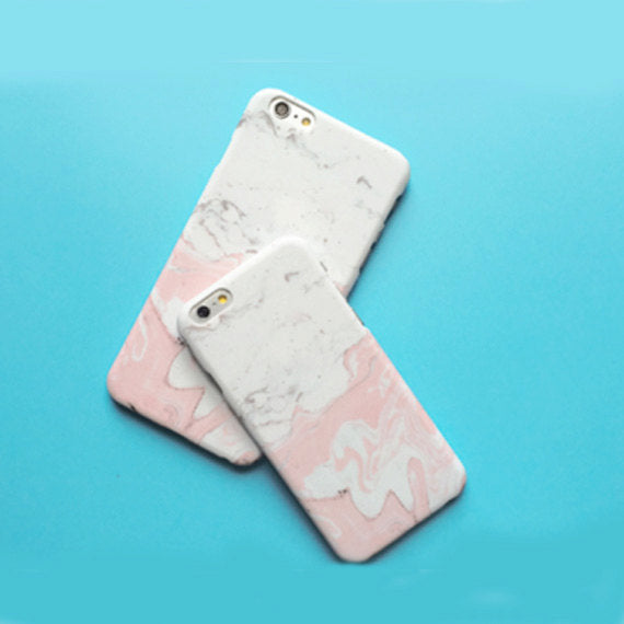 Pink Marble Case, Pantone case, Rose Quartz,Brushed, iPhone 6 6s 6plus 6splus, matte case, pink case, marbled case, matte pink, hipster
