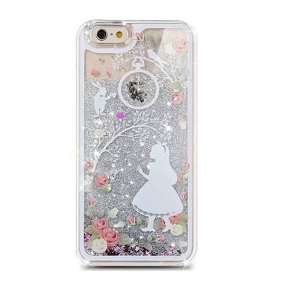 Liquid Glitter Stars Bling Sparkle Moving Latest Design Case Cover For iPhone 4, 5c, 5, SE, 6, 6 Plus 7 Samsung S5, S6, S6 Edge, S7, S8