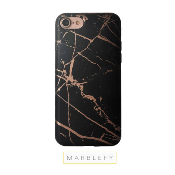 Rose Gold Black Marble phone case, Black Marble Iphone case, iphone 6, iphone 6 plus, iphone 7, iphone 7 plus,iphone 8, iphone 8 plus case