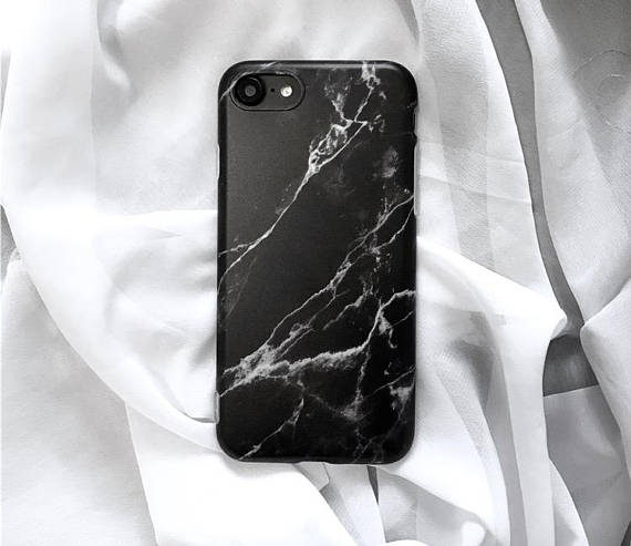 Black marble iphone case , marble phone case, matte phone case, iphone 6, iphone 6 plus, iphone 7, iphone 7 plus, 8 , 8 plus , iphone x case