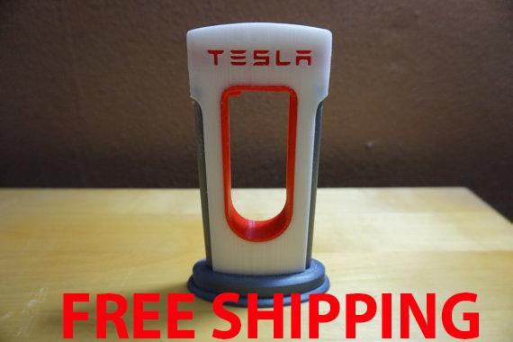 Tesla Supercharger Phone Tablet Charger Prop Tesla Model Charging Station Tesla Charger Tesla Electric Charger Phone Charger Rich Wealth