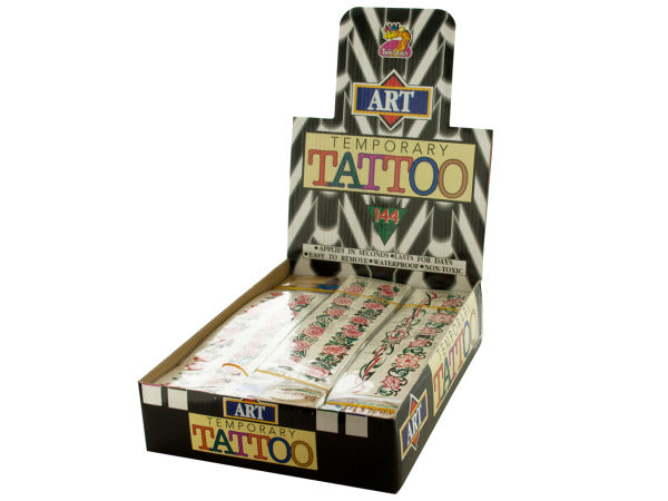 Insect Arm Band Temporary Tattoos Counter Top Display