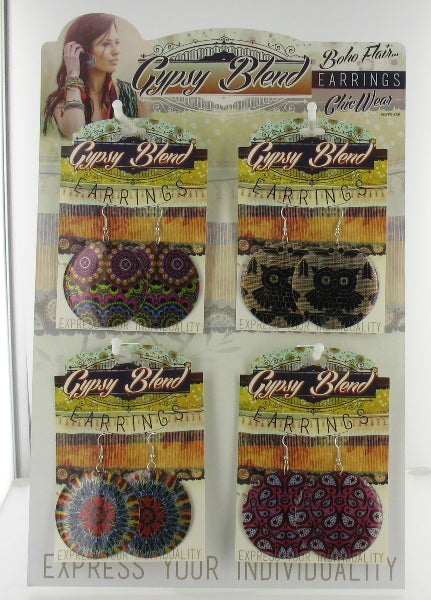 Gypsy Blend Earrings Collection Case Pack 72