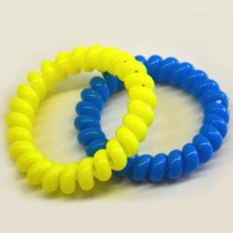 Neon Phone Cord Bracelet Case Pack 200