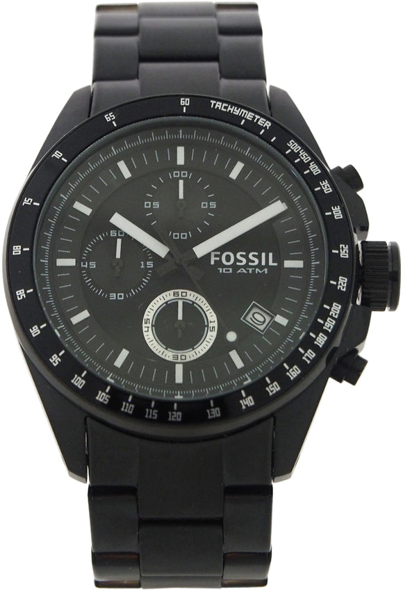 Fossil - CH2601P Decker Chronograph Black Stainless Steel
