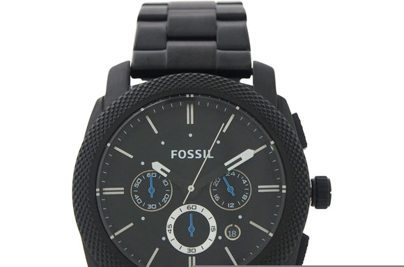 Fossil - FS4552P Machine Chronograph Black Stainless