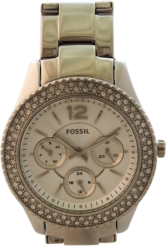 Fossil - ES3588P Stella Multifunction Stainless Steel Watch