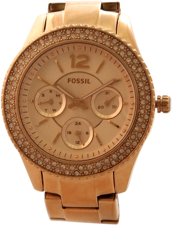 Fossil - ES3590P Stella Multifunction Rose-Tone Stainless