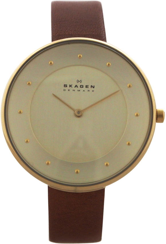Skagen - SKW2138 Gitte Leather Watch Watch 1 piece