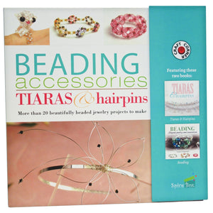 A Step-By-Step Easy Guide / Making Kit To Create Your Own Stunning Beaded Jewellery And Tiaras - Full Color Instruction Books Included