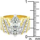 Venetian Crown Ring Size 8