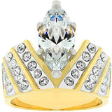 Venetian Crown Ring Size 10