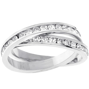 Double-Band Eternity Ring Size 5