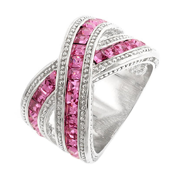 Twisting Pink Band Size 5